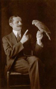Man with Parrot-circa1902