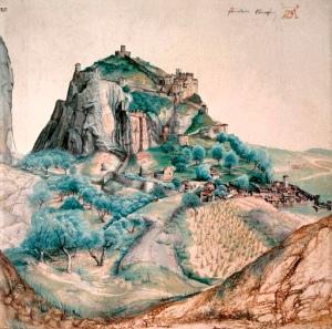 Albrecht-Durer/Vue-du-Val-d'Arco(1495)