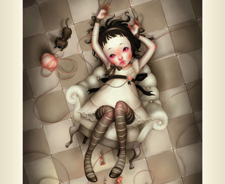 Alice-travers-miroir-Kitty