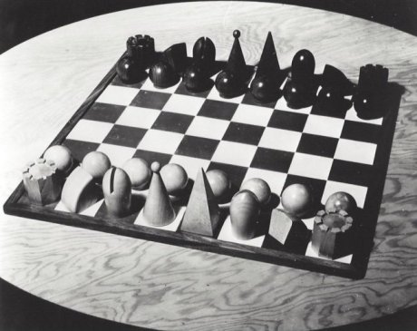 Man Ray - Chess