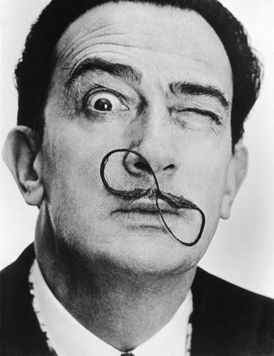 Philippe Halsman -Dali Moustache