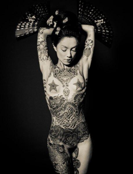 reka nyari - geisha ink2