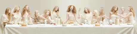 BLOND-LAST-SUPPER